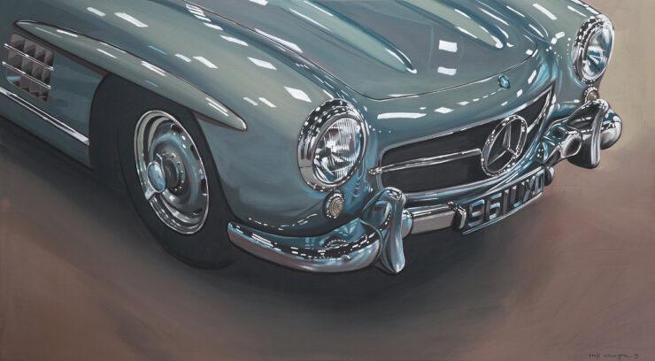 Manu Campa Classic Car Art 14