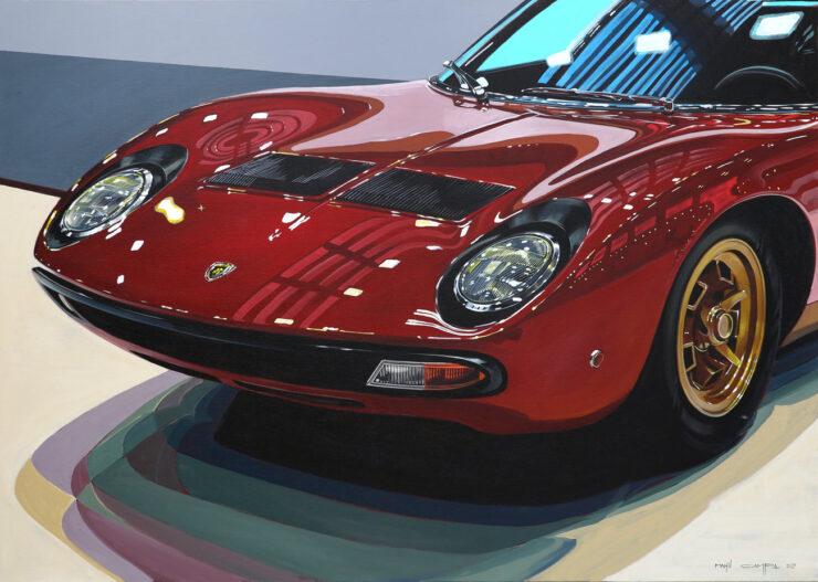 Manu Campa Classic Car Art 15