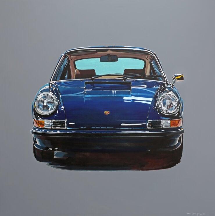 Manu Campa Classic Car Art 16
