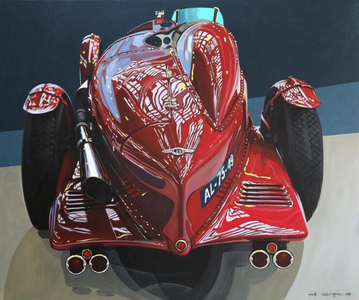 Manu Campa Classic Car Art 3