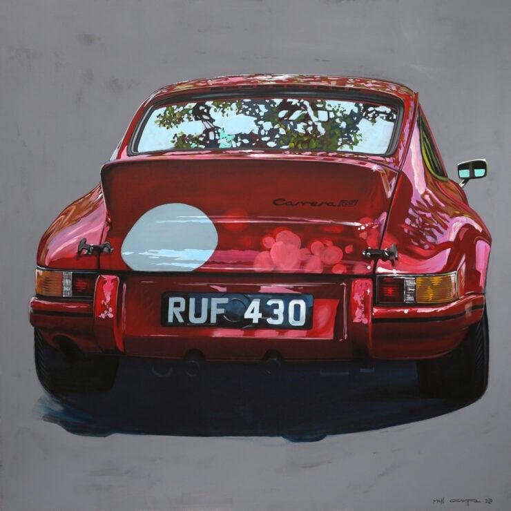 Manu Campa Classic Car Art 4