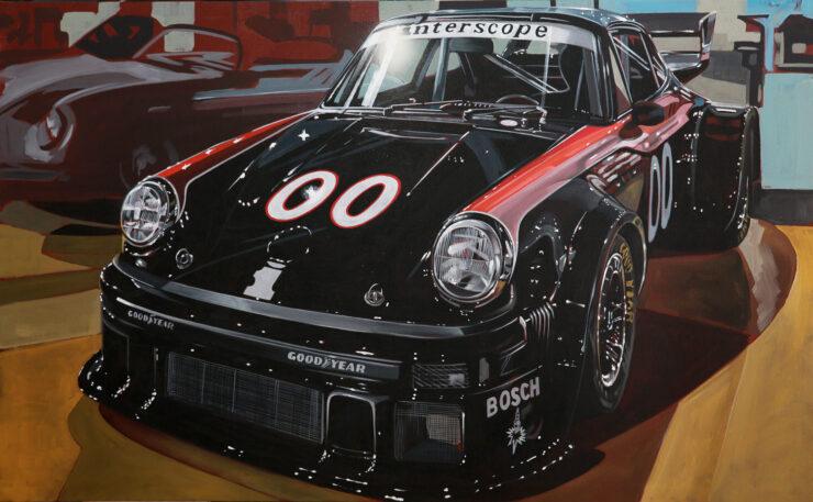 Manu Campa Classic Car Art 5