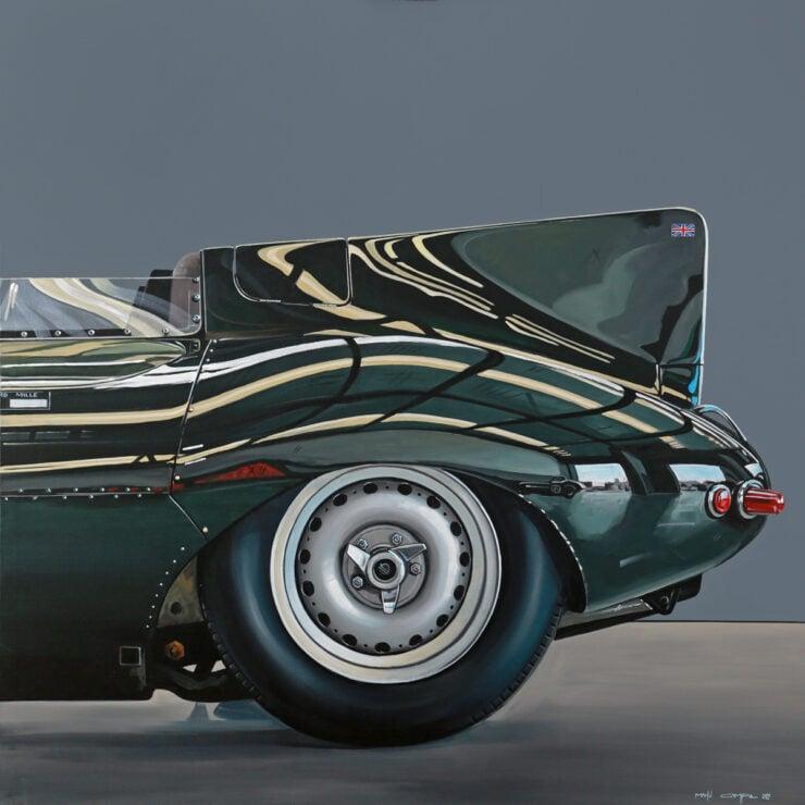 Manu Campa Classic Car Art 8
