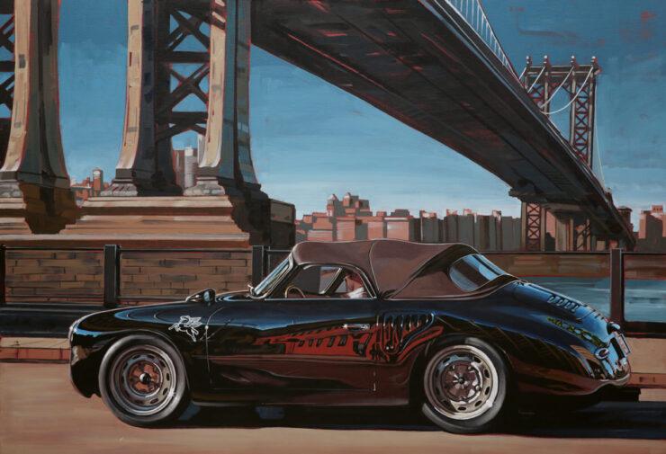 Manu Campa Classic Car Art 9