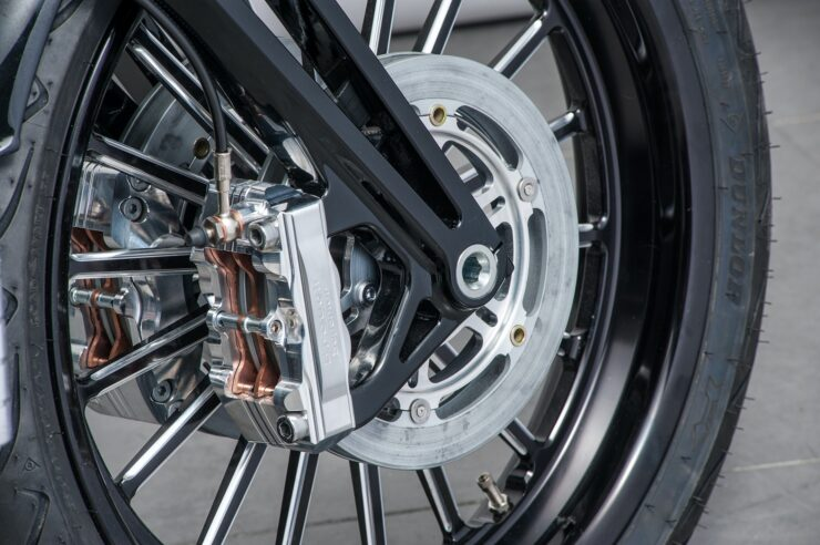 Brough Superior SS100 Boxer Motorcycles front brakes