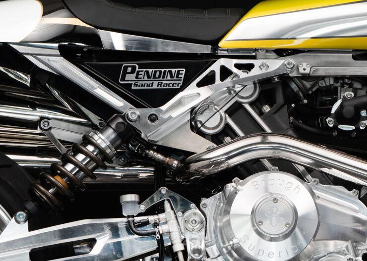 Brough Superior Boxer Motorcycles Pendine