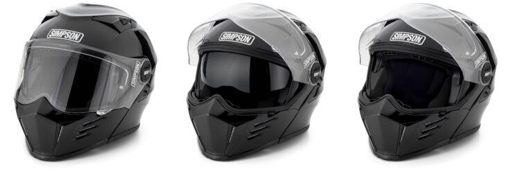 Simpson Mod Bandit Helmet Black Collage