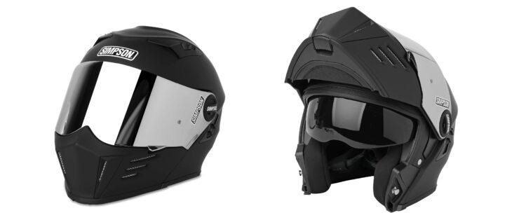 Simpson Mod Bandit Helmet Modular Open