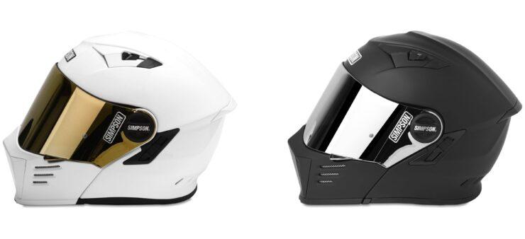 Simpson Mod Bandit Helmet Side