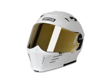 Simpson Mod Bandit Helmet White