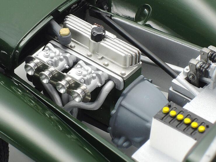 Tamiya Lotus Super 7 Series II 1 24 Scale Kit Kent Engine