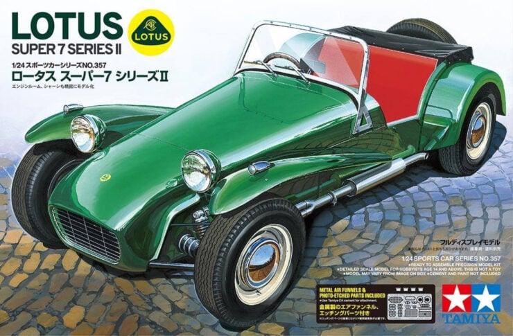Tamiya Lotus Super 7 Series II Box