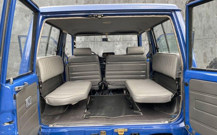 Toyota Land Cruiser FJ70 Rear Seats