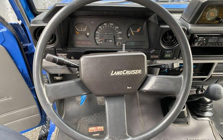 Toyota Land Cruiser FJ70 Steering Wheel