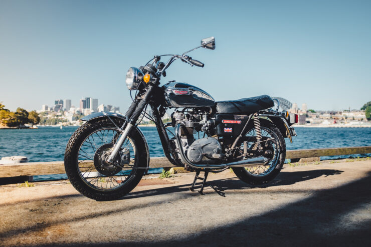 Triumph 750cc Bonneville 1