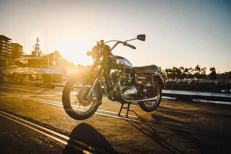Triumph 750cc Bonneville 4
