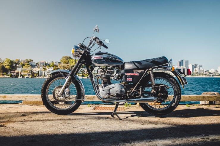 Triumph 750cc Bonneville