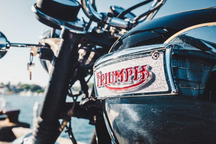 Triumph 750cc Bonneville Badge