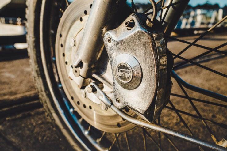 Triumph 750cc Bonneville Brakes