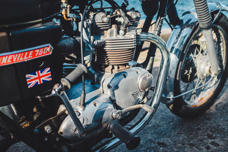 Triumph 750cc Bonneville Engine