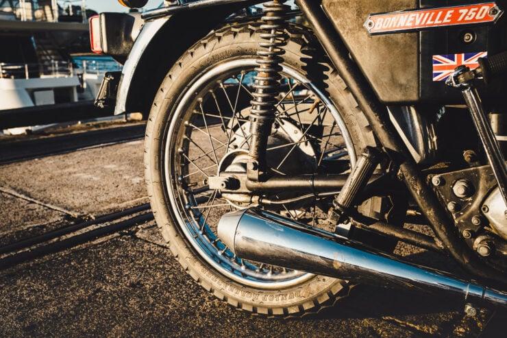 Triumph 750cc Bonneville Exhaust