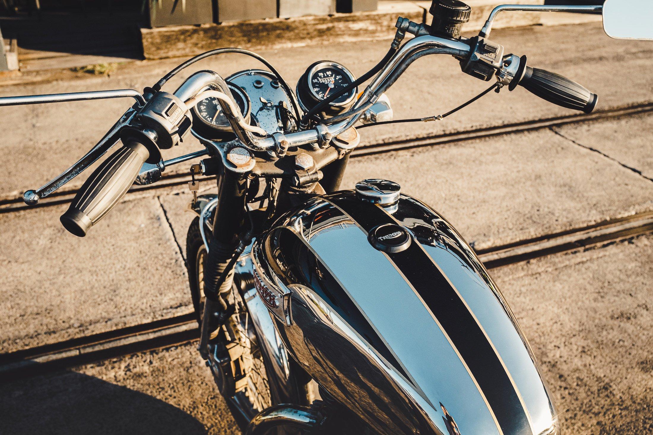 Triumph 750cc Bonneville Fuel Tank