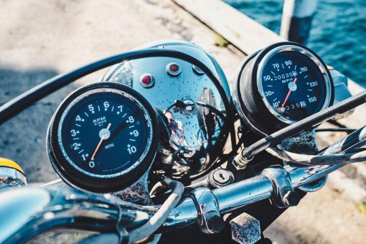 Triumph 750cc Bonneville Gauges