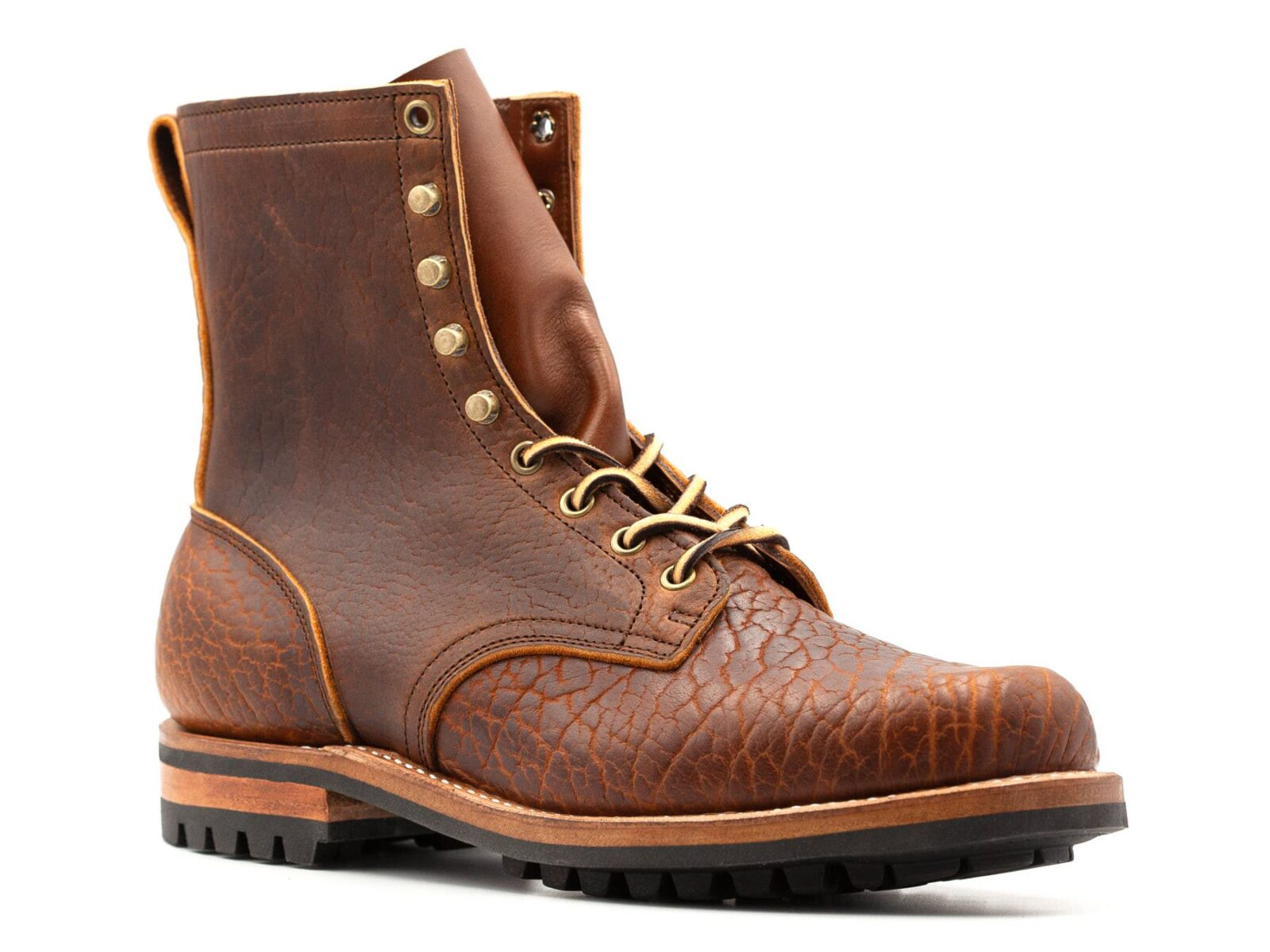 Bison Leather Boots