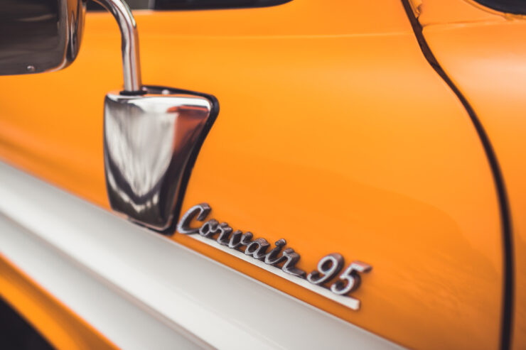 Chevrolet Corvair 95 Badge