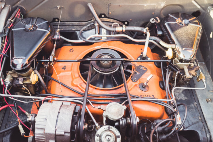 Chevrolet Corvair 95 Engine