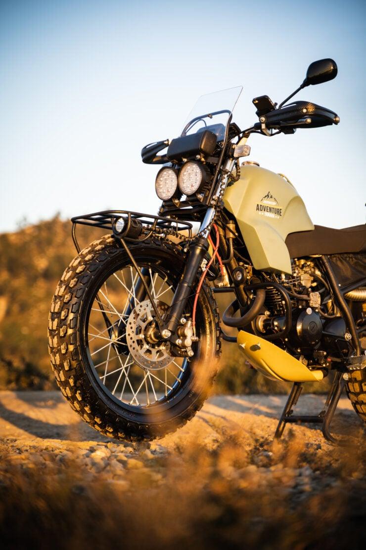 Custom Yamaha TW125 16