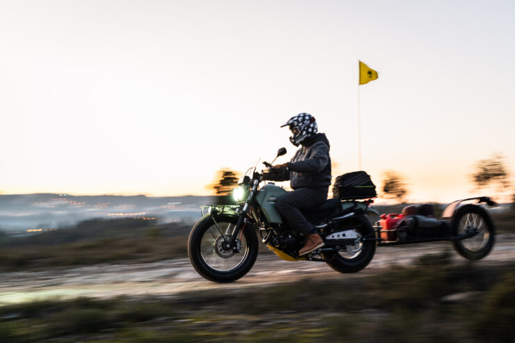 Custom Yamaha TW125 5