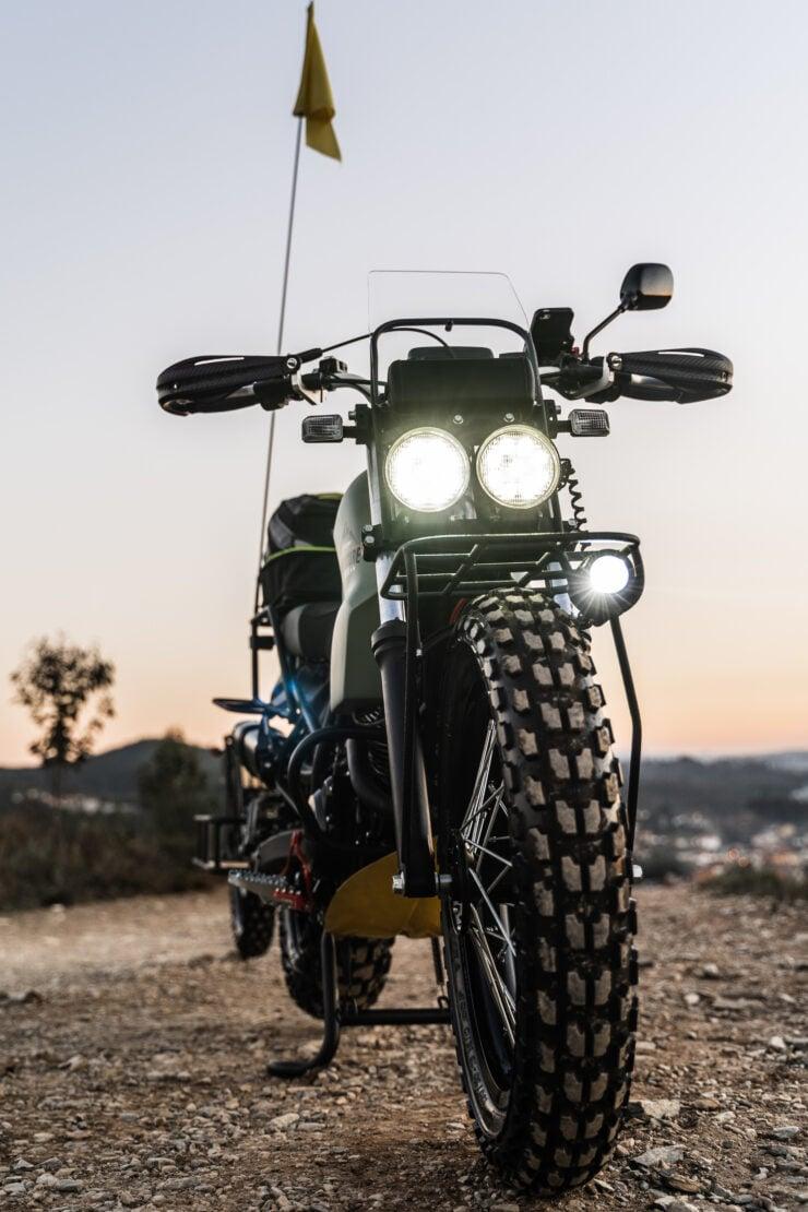 Custom Yamaha TW125 6