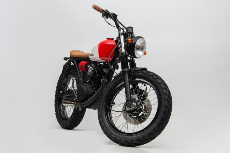 Honda CB125 Motorcycle 1