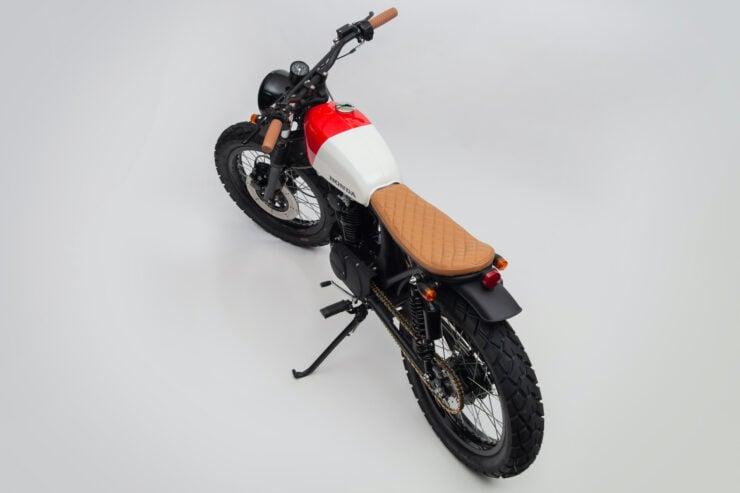 Honda CB125 Motorcycle 14
