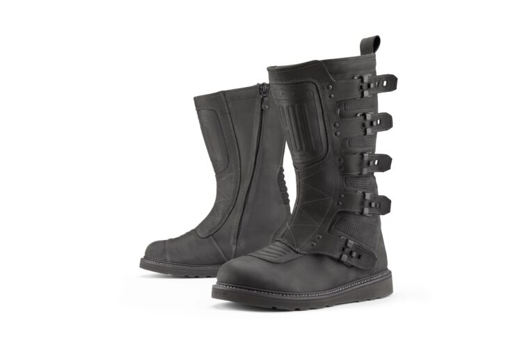 Icon Elsinore 2 Motorcycle Boots Black