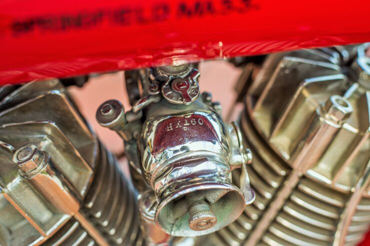Indian Board Track Racer Carburetor