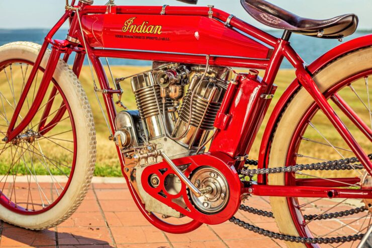 Indian Board Track Racer Engine 2