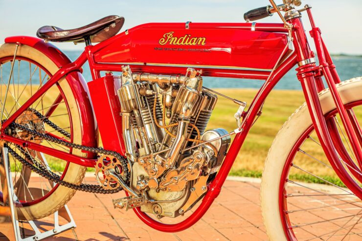 Indian Board Track Racer Engine 3