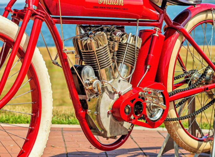 Indian Board Track Racer Engine