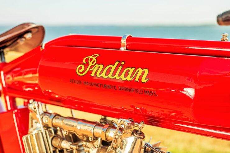 Indian Board Track Racer Fuel Tank