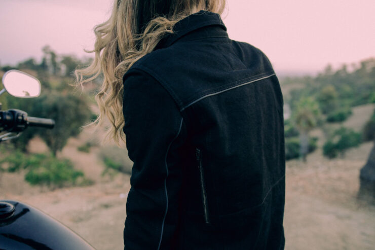 Juliet Moto Jacket by Nine Lives Motowear 5