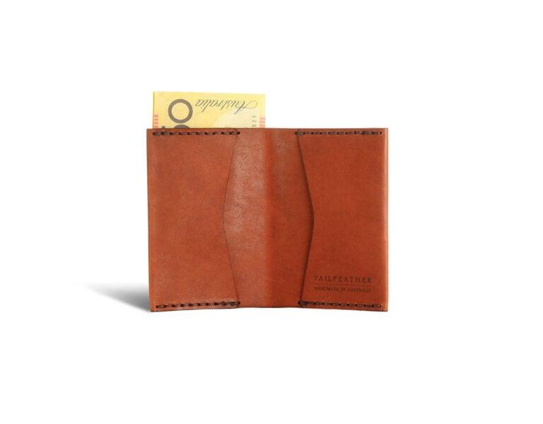 Sparrow V2 – A Minimalist Kangaroo Leather Wallet From Australia