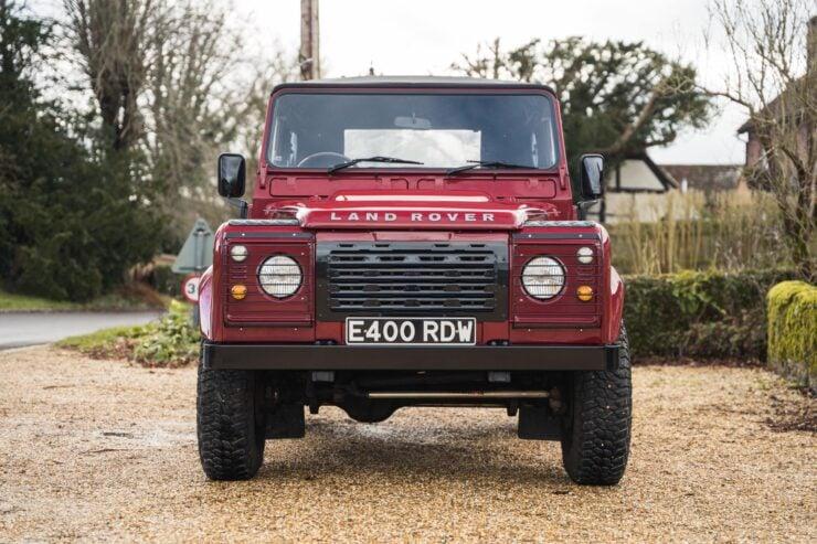 Land Rover Defender Grille