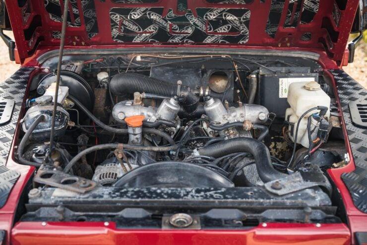 Land Rover Defender V8 Engine Swap