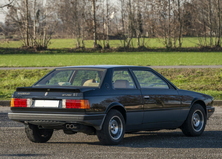 Maserati Biturbo Si Back