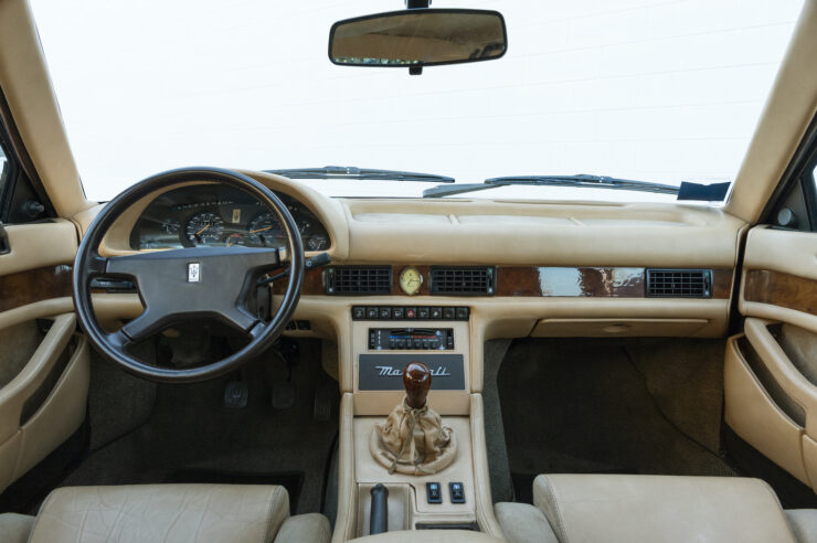 Maserati Biturbo Si Interior