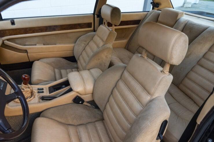 Maserati Biturbo Si Seats