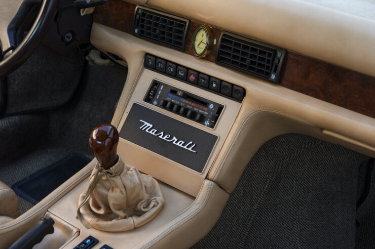 Maserati Biturbo Si Shifter