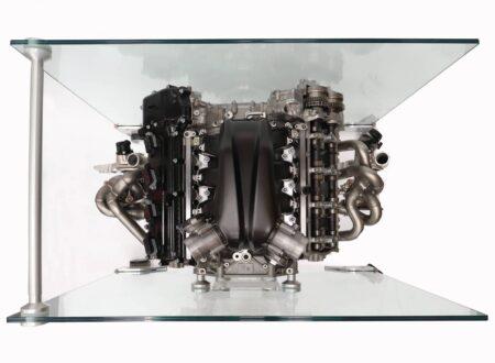McLaren Senna Engine